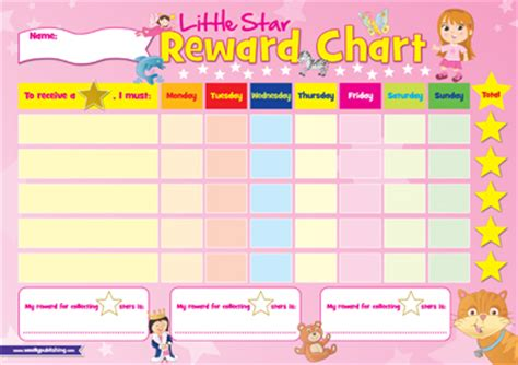 printable reward charts for dry nights best photos of sticker charts for girls printable reward