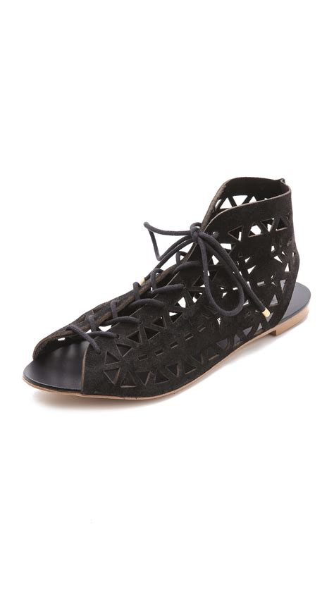 cynthia vincent sandals twelfth cynthia vincent winima laser cut sandals in