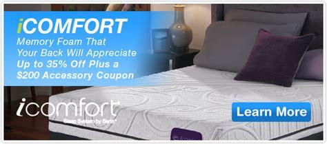 comfort day spa brea icomfort mattress sale therapedic nature spa queen and