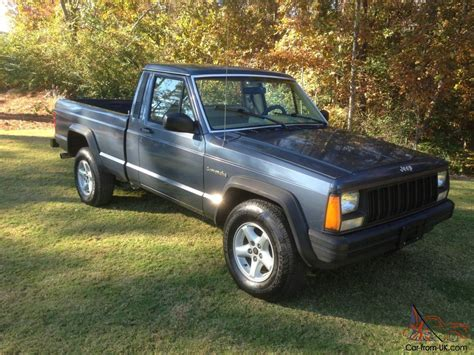 jeep pickup comanche 1989 jeep comanche base standard cab pickup 2 door 2 5l