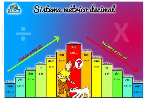 sistema metrico sistema metrico decimal conocimiento del medio pinterest