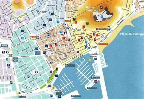 map of alicante city image gallery town alicante