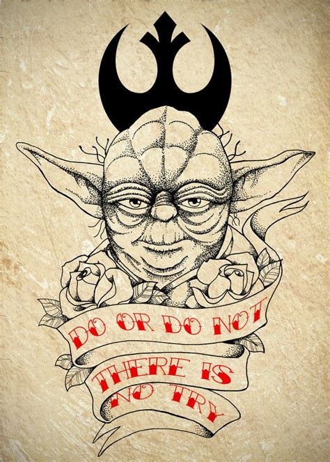 yoda tattoo designs 50 best images about starwars on