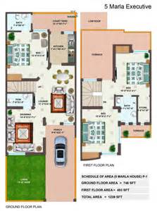 3d Home Design 5 Marla by 5 Marla House Plan Lamudi