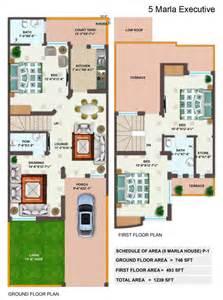 3d home design 7 marla 5 marla house plan lamudi