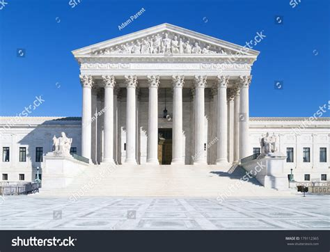 Washington Dc Court Search Us Supreme Court Washington Dc Stock Photo 179112365