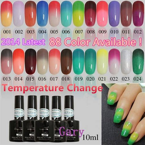 color changing nails popular shellac color change aliexpress nail