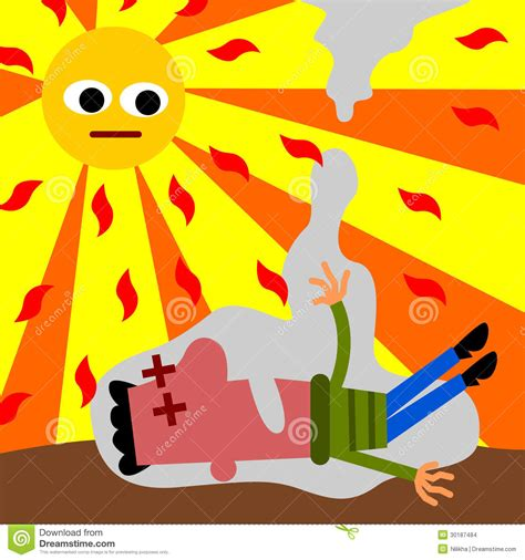 clip on heat l heat stroke stock images image 30187484