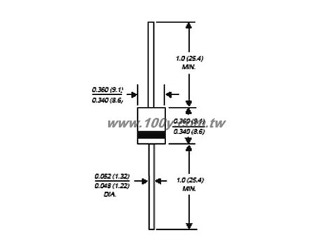 diode p600m data 勝特力電子零件材料 gt p600m p600m vishay vishay