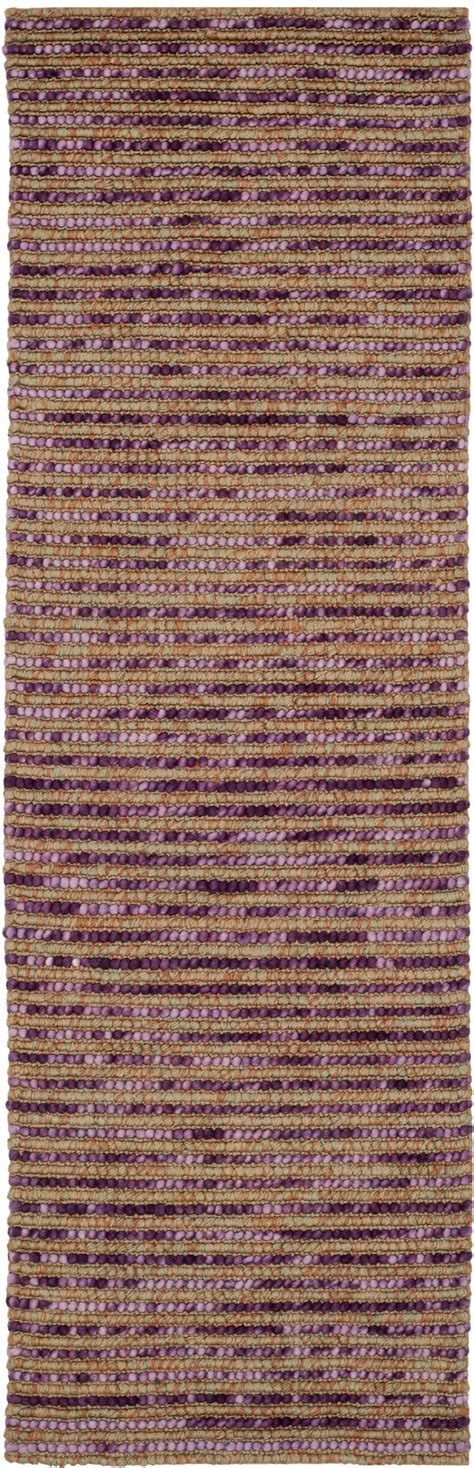Wool Jute Area Rugs Safavieh Bohemian Purple Wool Jute Area Rug Boh525e