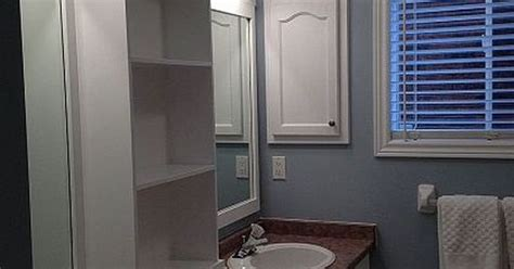 large bathroom mirror redo to double framed mirrors and large bathroom mirror redo to double framed mirrors and