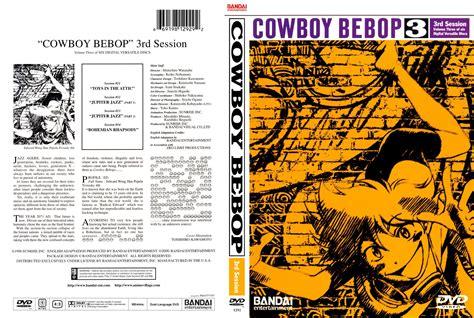 Anime Covers Covers De Cowboy Bebop Volume 3 Anglais