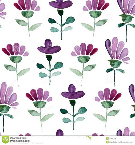 watercolor drawn pattern watercolor seamless pattern stock vector image 57397294
