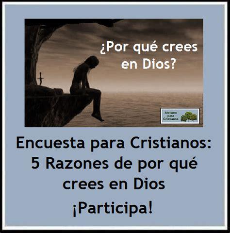 Ateismo Para Cristianos 5 Razones Por Las Que No Creo En Dios | ateismo para cristianos encuesta para cristianos 5