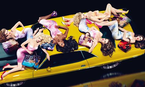 Louis Vuitton Brings In The Supermodels For 2008 by And Fashion The Many Collaborations For Louis Vuitton