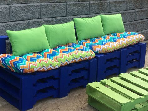 diy outdoor bench with storage cushion and back