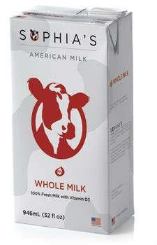 american milk uht shelf stable whole milk made in usa