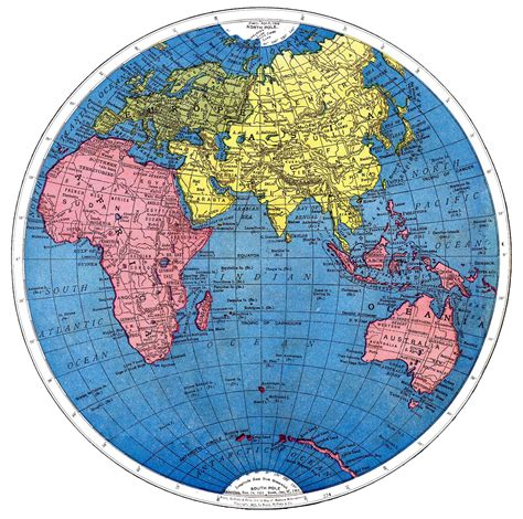 map world globe vintage printable map of the world part 2 the