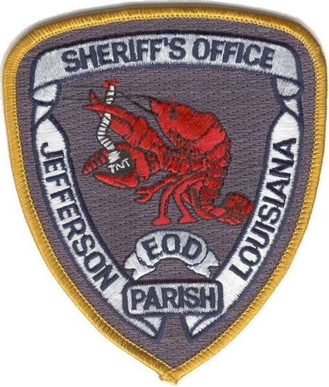 Jefferson Parish Sheriffs Office by Eod Badges Antonio Prieto Barrio