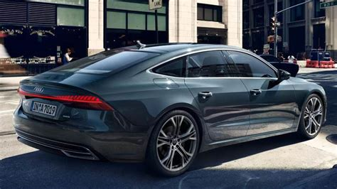 audi a7 2018 audi a7 sportback 2018 dimensions boot space and interior