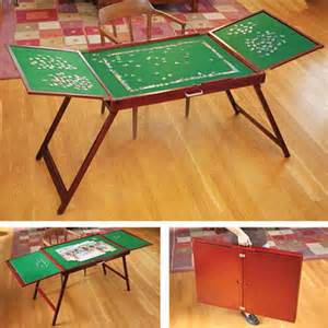 special value fold and go wooden jigsaw table