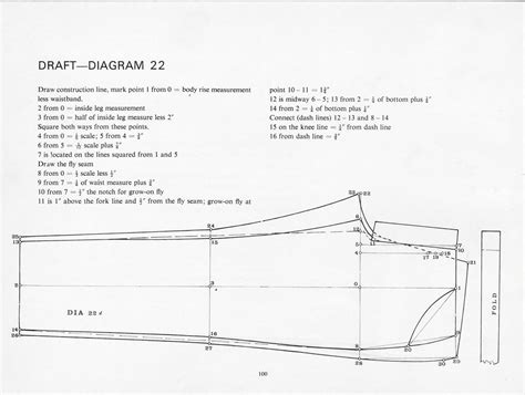 pattern drafting jeans pattern drafting instructions for jeans from the cutter