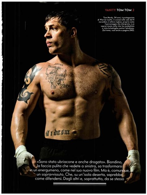film warrior quotes tom hardy picture from men of warrior movie showing tattoo