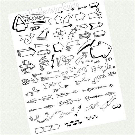 doodle notes draw therevisionguide studytips connectors or arrows are an