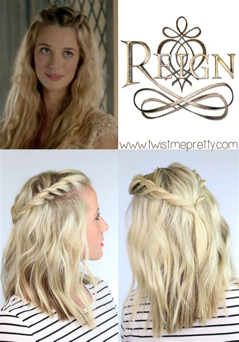reign hairstyes a gorgeous twisted bohemian hairstyle inspired from olivia