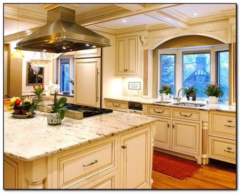 oak cabinets with granite countertops home and cabinet