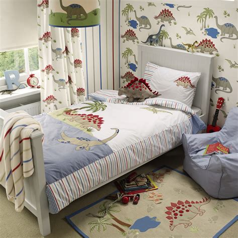 dinosaur wallpaper for bedroom dinosaurs bedset at laura ashley