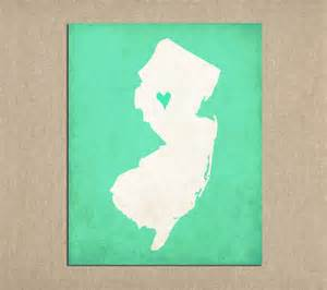 nj silhouette new jersey state silhouette map by meredithpdesigns on