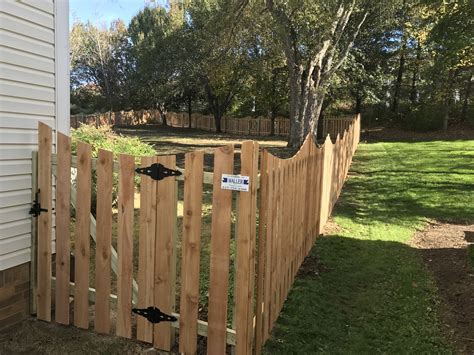 picket fence nashville fence and deck brentwood tn cedar picket fence