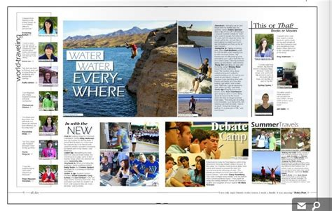 yearbook layout design rules modular yearbook design and side bars yearbook pinterest