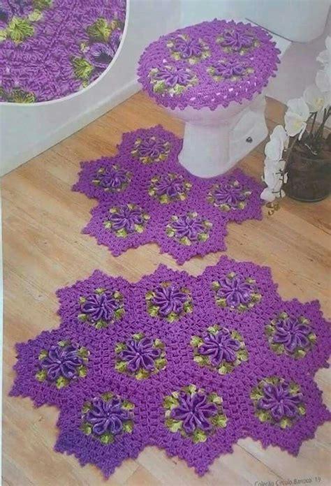 1000 imagens sobre croche no pinterest 1000 imagens sobre croch 234 jogos banheiro e cozinha no