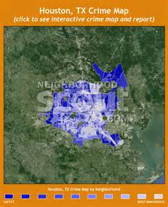 Crime Maps By Zip Code by Houston Tx Crime Rates And Statistics Neighborhoodscout