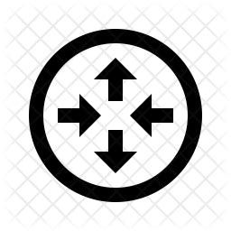 router icon   style   svg png eps ai