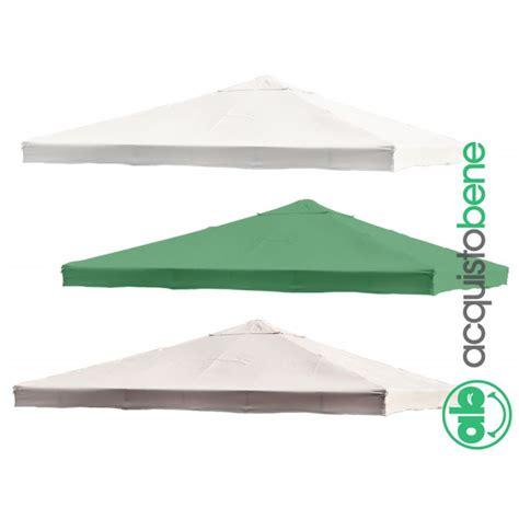 tenda per gazebo 3x3 top copertura di ricambio telo gazebo 3x3 3x4 mt bianco
