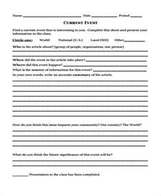 template on how to write a report 11 event report templates free sle exle format