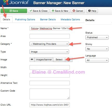 video tutorial joomla 3 joomla 3 0 tutorial how to insert a banner in joomla