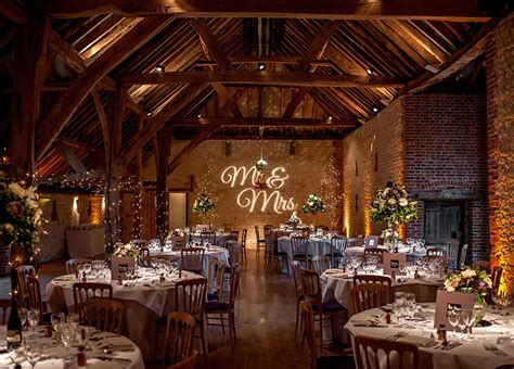best wedding venues uk the best barn wedding venues in surrey chwv