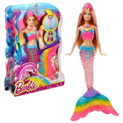 barbie rainbow lights mermaid doll barbie dreamtopia rainbow lights mermaid doll ebay