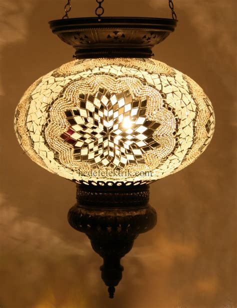 Turkish Pendant Light Turkish Style Mosaic Pendant L 32 Cm Mediterranean Pendant Lighting Other Metro By