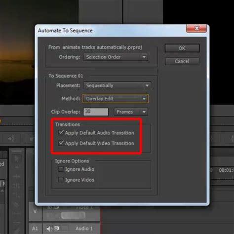 adobe premiere pro video transitions add transition adobe premiere pro