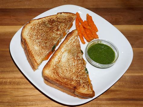 Manjula S Kitchen by Grilled Potato Sandwich Manjula S Kitchen Indian