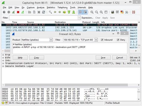 tutorial como usar wireshark como criar regras de firewall no wireshark pplware