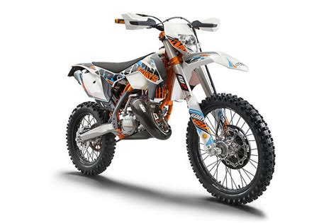 Ktm Exc 125 Top Speed 2015 Ktm 125 Exc Six Days Review Top Speed