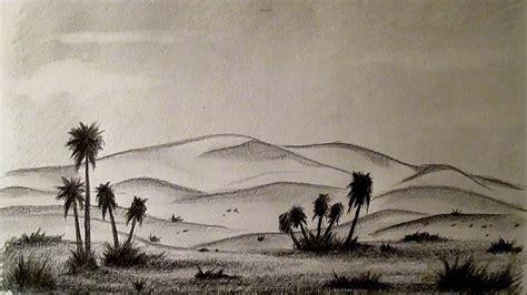 imagenes de paisajes lapiz c 243 mo dibujar un desierto f 225 cil paso a paso c 243 mo dibujar