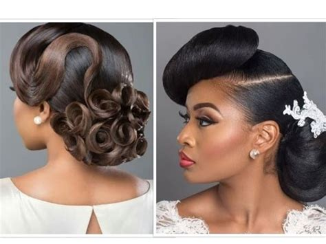 bridal hair (with weave) & makeup for black beauties youtube