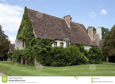 typical french home typical french house royalty free stock photo image